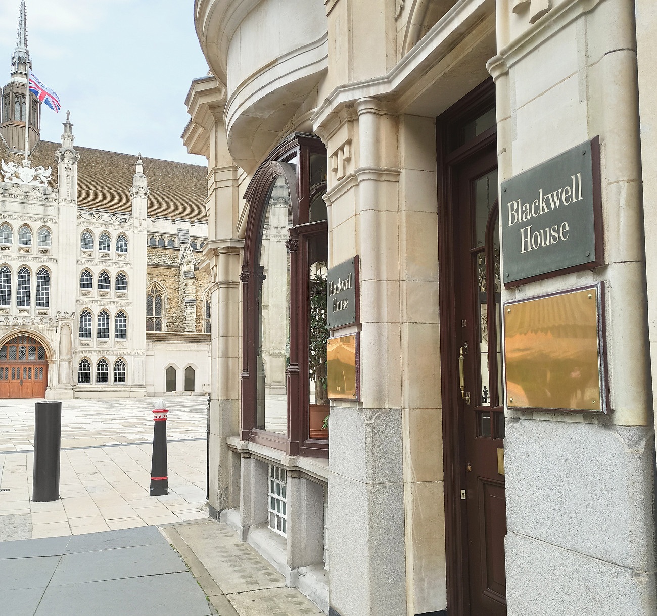 photo of blackwell house in guildhall yard