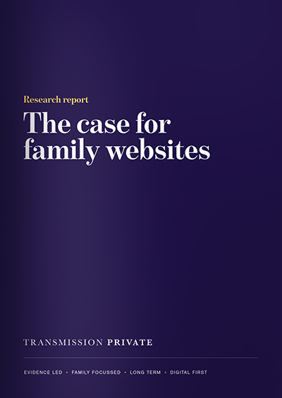The case for family websites